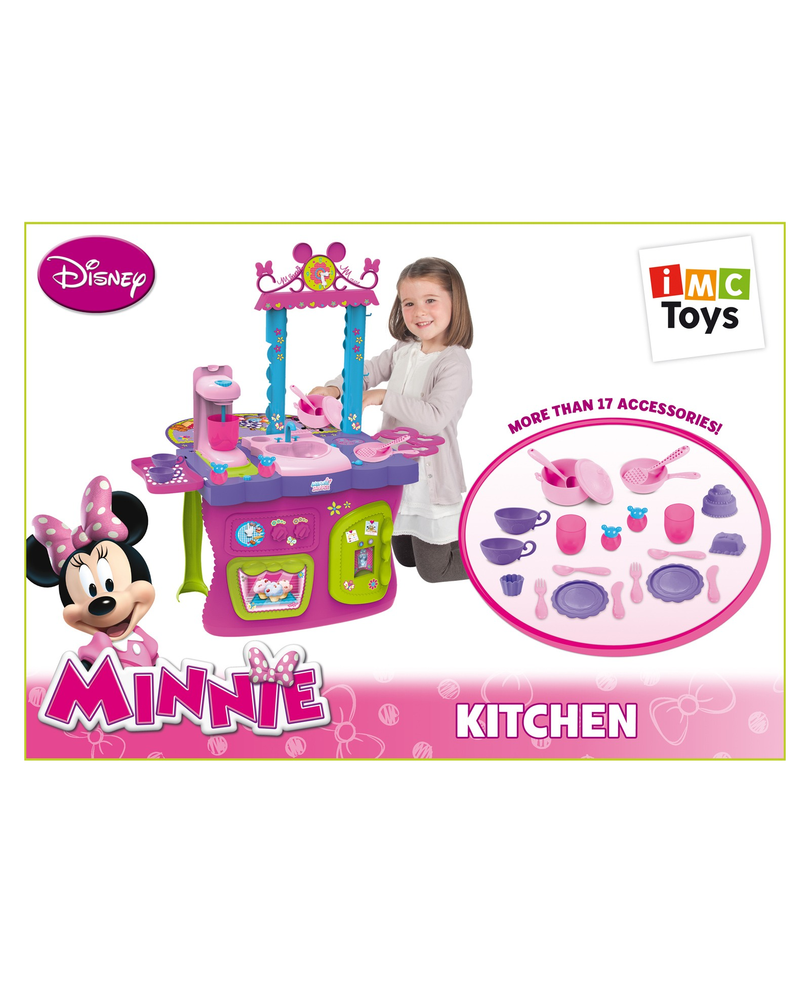 IMC Toys Minnie Kitchen - Pink