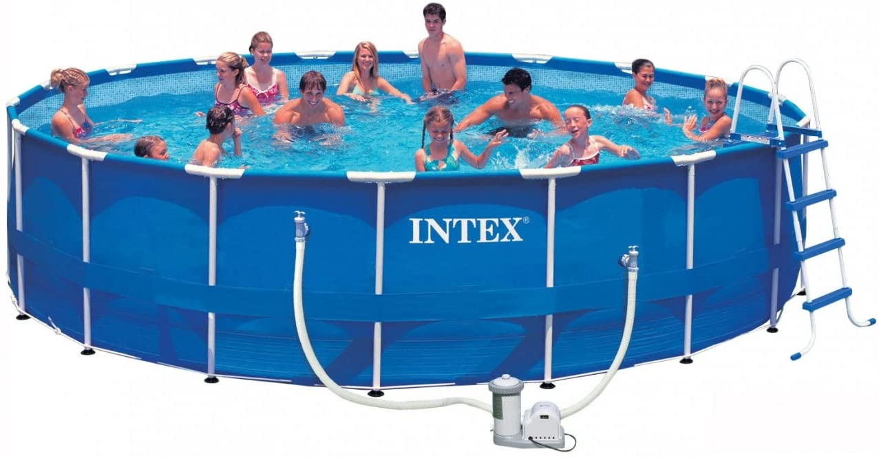 Intex Metal Frame Pool-Full Set(18Ft)-(549X122)