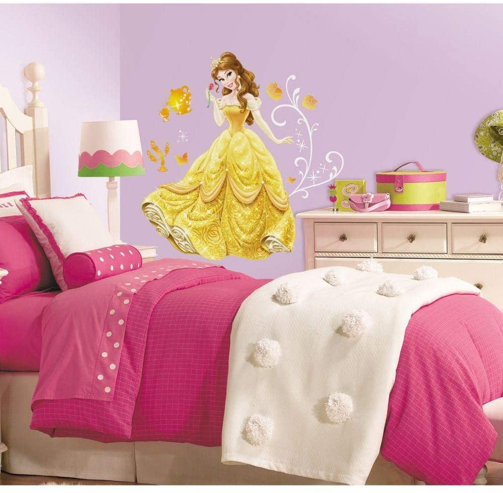 Roommates Princess Belle Giant Wall Decals