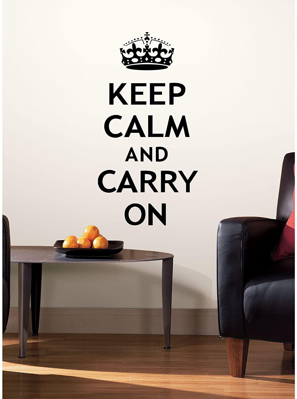 Roommates Keep Calm Wall Decals