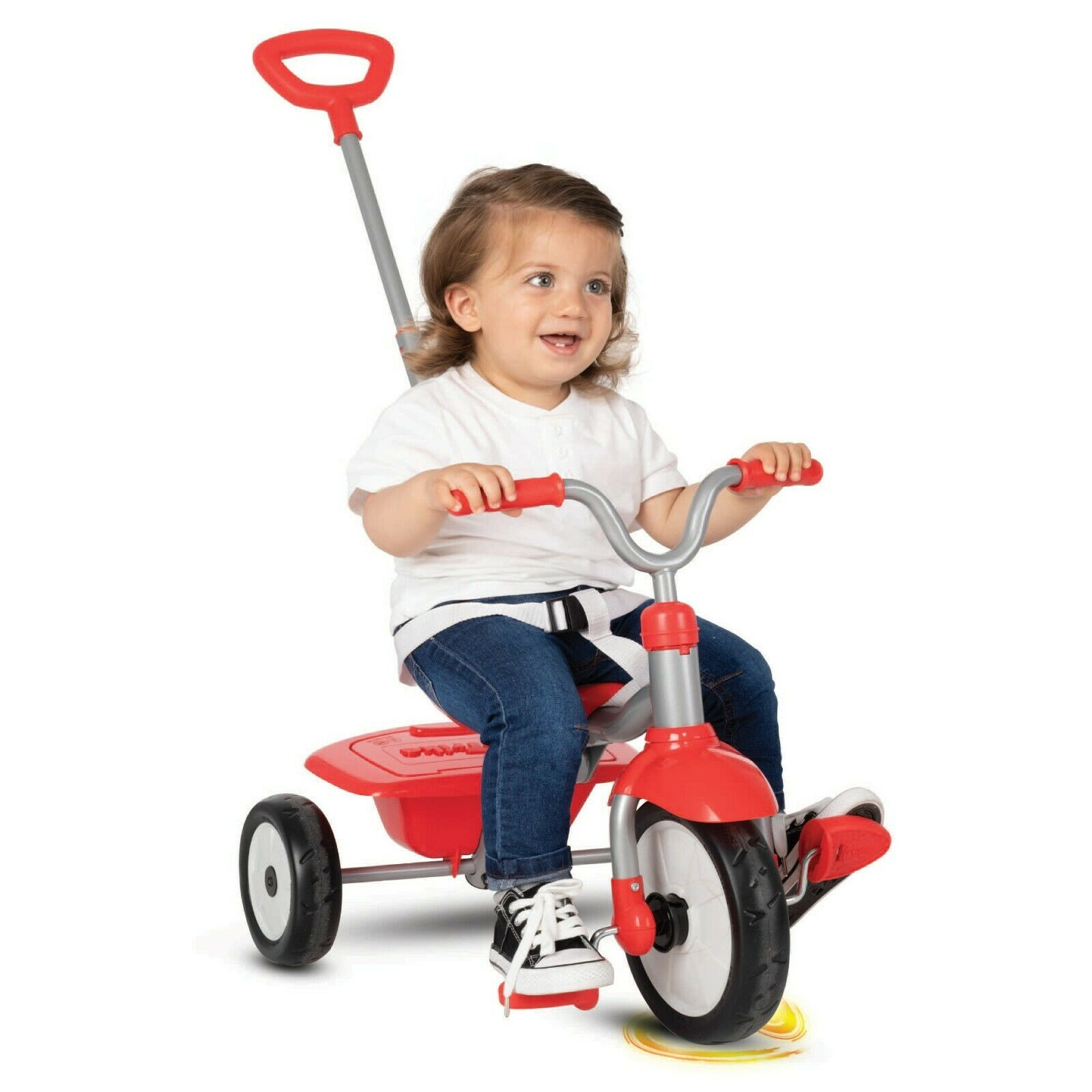 Smartrike Folding Fun Tricycle Red