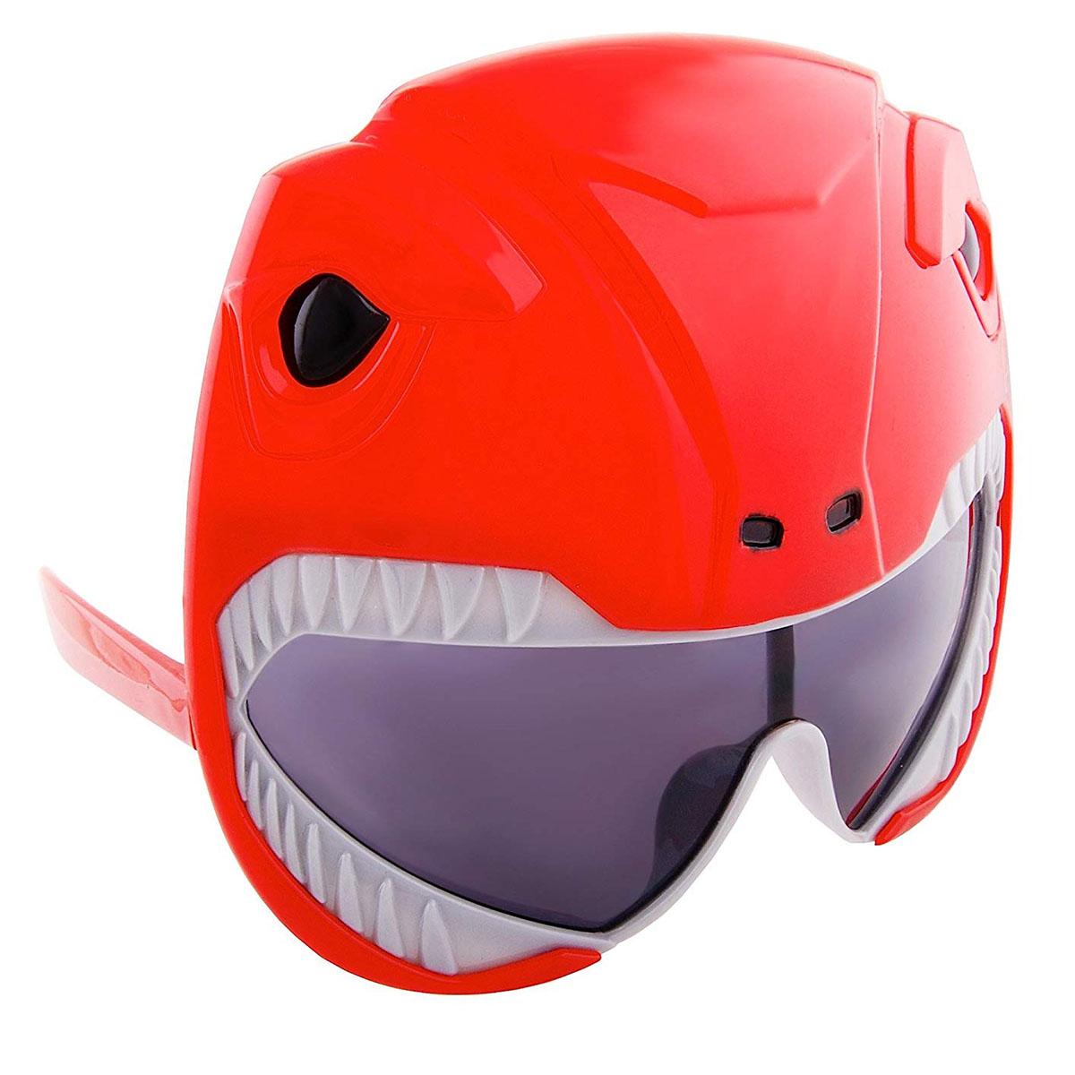 Sun Staches Officially Licensed Red Power Rangers - Multicolor